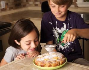 Gâteau étoilé aux pommes