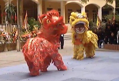 La danse de la licorne