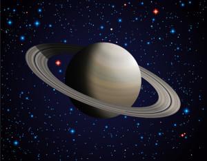 De quoi est fait l'anneau de Saturne ?