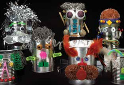 Techno-brico : Robots rigolos