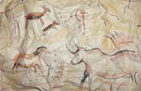 Crée une œuvre préhistorique