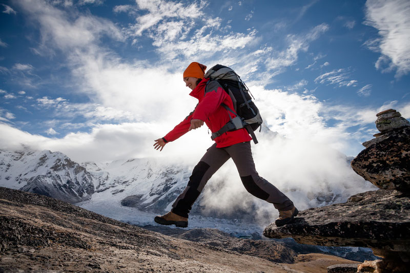 Nettoyer l'Everest