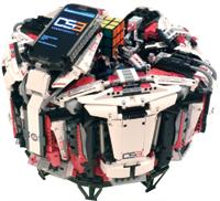 Un robot champion du cube Rubik