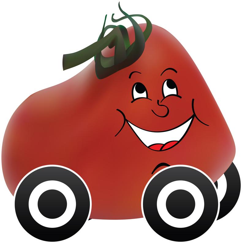 Des pièces d'auto fabriquées à partir de tomates !