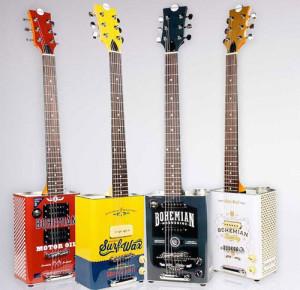 Des guitares ingénieuses !