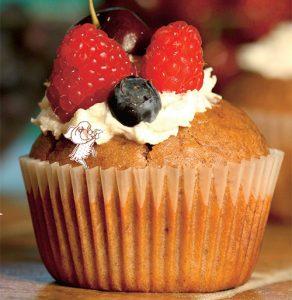 Fais des cupcakes aux cerises