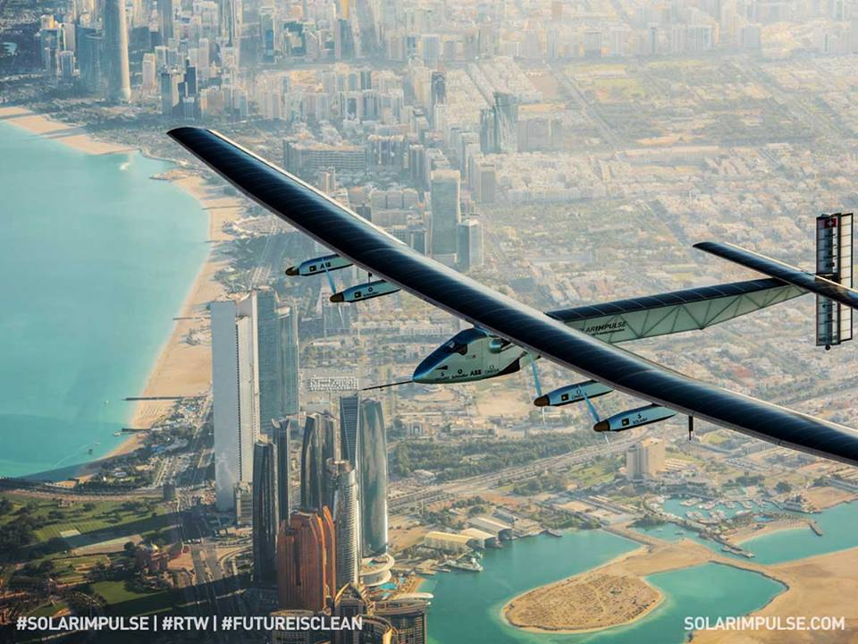 Le Solar Impulse 2 est en Chine