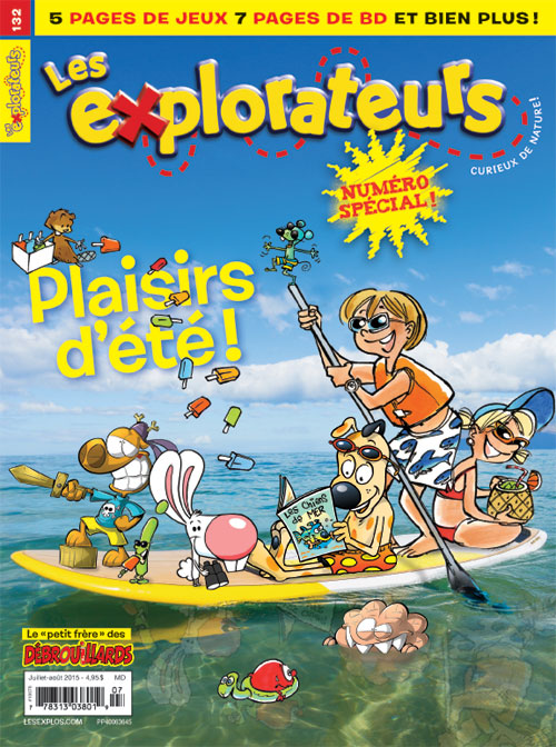 Juillet-août 2015 – Plaisirs d'été !