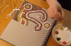 Des projets inspirés de l'art aborigène