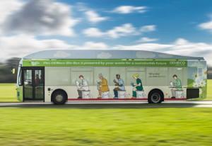 Un bus qui roule grâce à du caca !