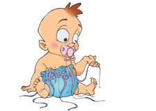 Des couches en méduse – Les bébés pollueurs