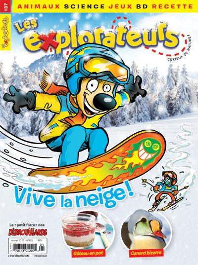 Janvier 2016 – Vive la neige !