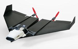 Un «drone» d'avion de papier !