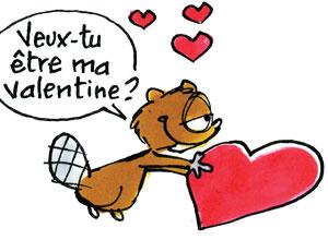 Une carte de Saint-Valentin à gratter !