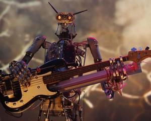 Les robots musiciens du groupe Compressorhead