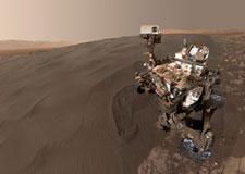 Égoportrait martien!