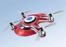 Luke Bannister est le champion de la course de drones!