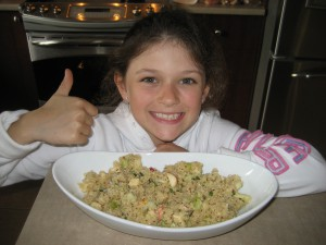Craquante salade de quinoa