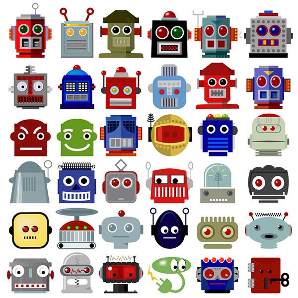 Casse-tête : Les robots