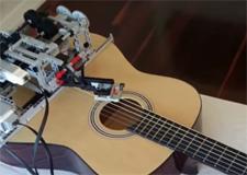 Le robot guitariste
