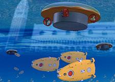 Des robots sous l'eau