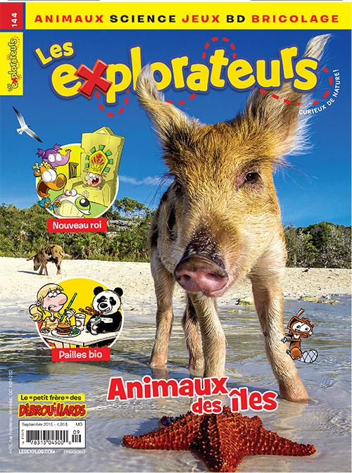 Septembre 2016 – Animaux des îles