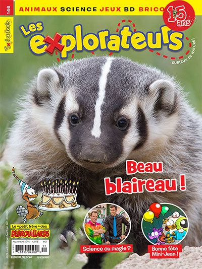 Novembre 2016 – Beau blaireau !