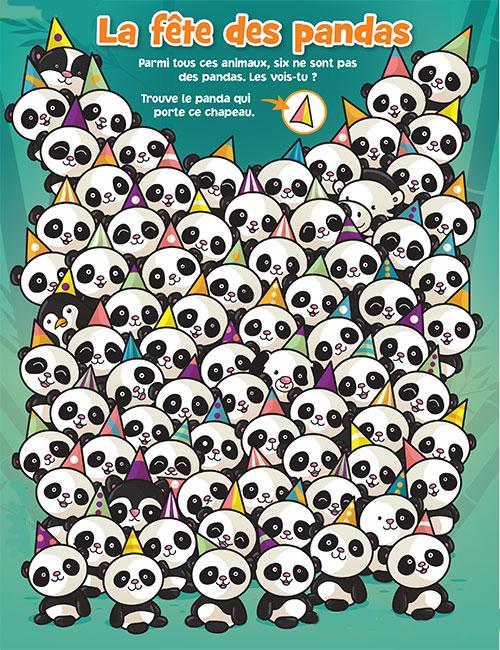La fête des pandas