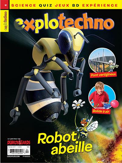 Février 2017 – Explotechno – Robot abeille