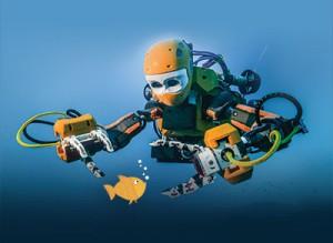 Un robot plongeur !