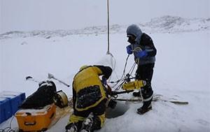 Un robot sous la glace