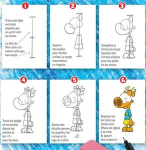 À tes crayons : dessine Mini-Jean