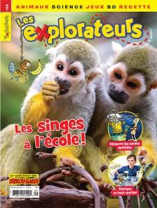 Septembre 2017 – Les singes à l'école!
