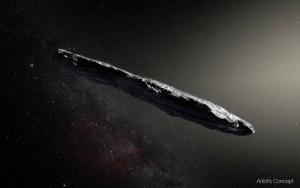 Quel est cet étrange objet dans l'espace ?