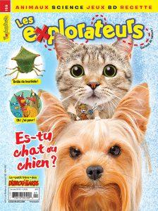 Janvier 2018 – Es-tu chat ou chien ?