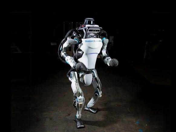 Un robot acrobate