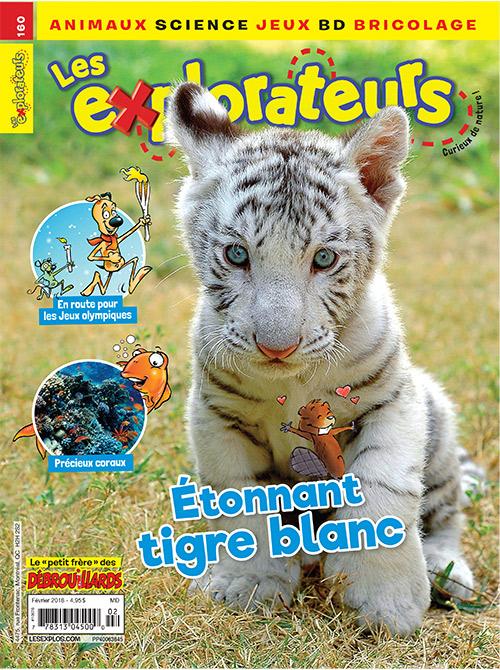Février 2018 – Étonnant tigre blanc