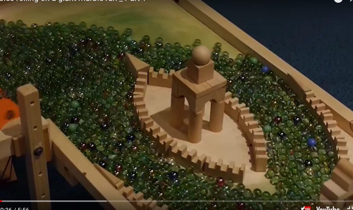 Explo vidéo : le parcours de billes