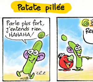 Patate pillée