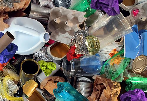 Visite un centre de tri des matières recyclables