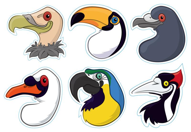 Les becs d'oiseaux