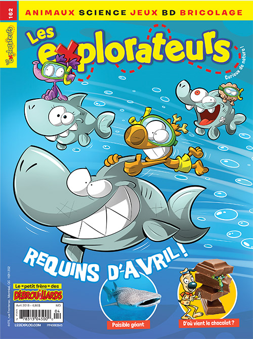 Avril 2018 – Requins d'avril !