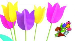 Tulipes de papier