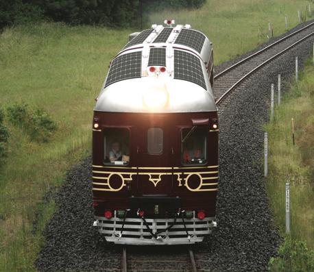 Le premier train solaire au monde !