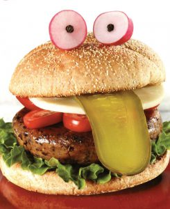 Hamburgers végé