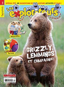 Juillet-août 2018 – Grizzly, lemmings et compagnie !