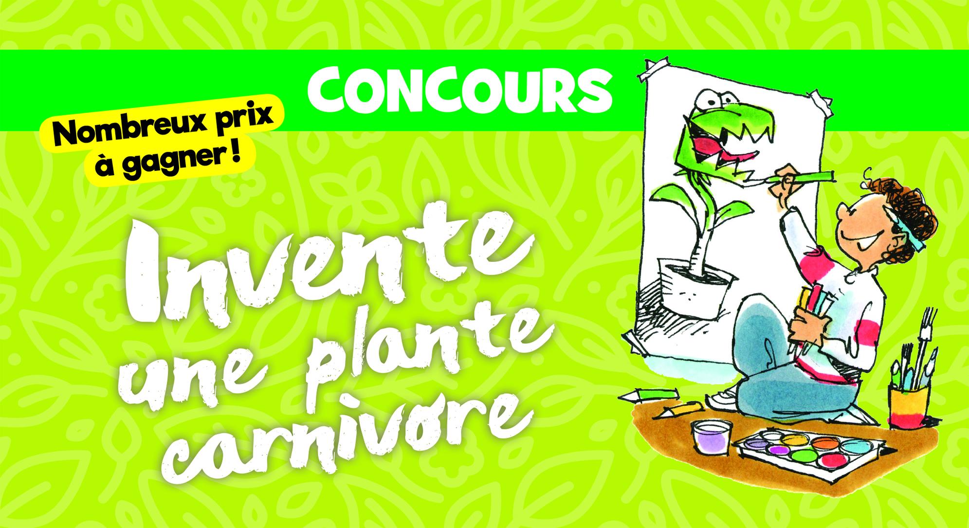 Invente une plante carnivore