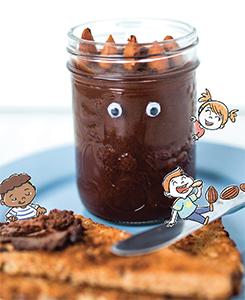 Tartinade chocolat et amande