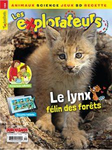 Novembre 2018 – Le lynx, félin des forêts