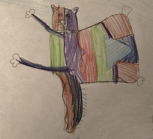 Axelle Podorieszach, 7 ans, Montréal